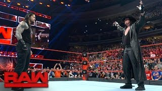Download The Undertaker introduces Roman Reigns to his ″yard″: Raw, March 27, 2017 Video