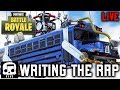 Writing the Fortnite Rap Song with Rockit Gaming - LIVE