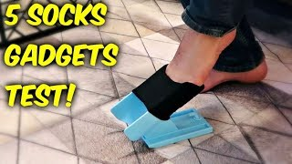 Download 5 Socks Gadgets put to the Test! Video
