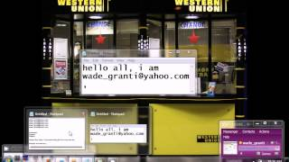 Download Western Union Transfer's. 2013, Real WU Transfers NOT BUG, Video