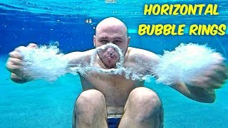 Download How To Make Horizontal Bubble Rings Underwater? Video