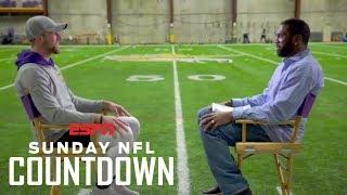 Download Adam Thielen's unorthodox journey to the NFL   NFL Countdown   ESPN Video