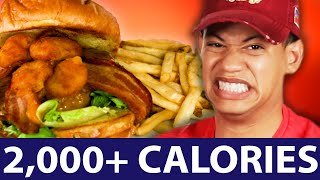 Download We Ate The Highest Calorie Meals From Chain Restaurants (2000+ Calories) Video