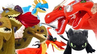 Download How to train your dragon with Avengers! Defeat the villain Thanos ❤️ RACHAMAN TOY Video