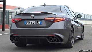 Download Alfa Romeo Giulia Quadrifoglio SOUND Start Up & Revs - Normal Mode vs. Race Mode Video