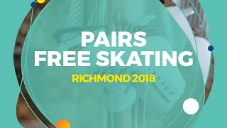 Download Mishina Anastasia / Galliamov Aleksandr (RUS) | Pairs Free Skating | Richmond 2018 Video