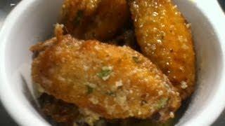 Download Garlic Parmesan Chicken Wings Recipe Video