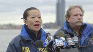 Download NTSB Member Dinh-Zarr's 1st Media Briefing on the East River, New York City Video