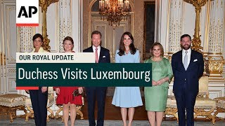 Download Duchess Visits Luxembourg - 2017   Our Royal Update # 29 Video