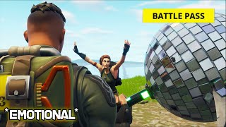 Download I carried the coolest DEFAULT SKIN and got him a BATTLE PASS Video