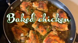 Download How to make Delicious Baked Chicken Quick n simple Video