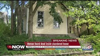 Download Woman found dead inside abandoned home in Indianapolis Video