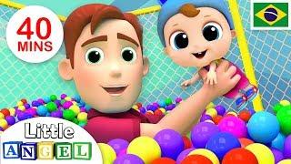 Download Um Dia no Parquinho, Meu Novo Irmãozinho e Mais!   + Vídeos Infantis   Little Angel Português Video