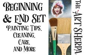 Download The Beginning and End Set | Blending | Varnish | Signature Art Sherpa Brushes Video