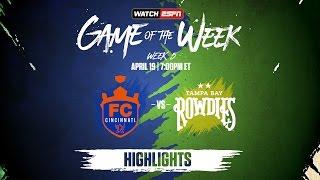 Download Highlights: USL Game Of The Week #CINvTBR 4/19/17 Video
