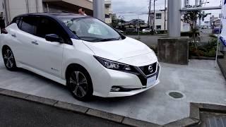 Download 新型リーフ見てきました。2000円/月で充電したい放題の車! Video