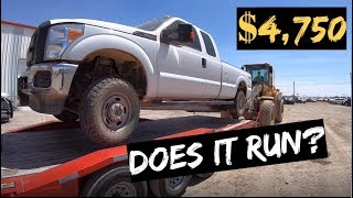 Download $4,750 2015 Ford F250 4x4 Auction WIN! Does it RUN? Video