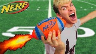 Download NERF FOOTBALL!! (ROCKET MOD) Video