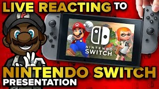 Download Nintendo Switch Presentation LIVE REACTION, PREDICTIONS & DISCUSSION! (1/12/17 @ 10:30pm EST) Video