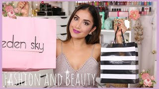 Download Fall Beauty & Fashion Haul! Eden Sky, Papaya, Sephora & Lush | Dulce Candy Video