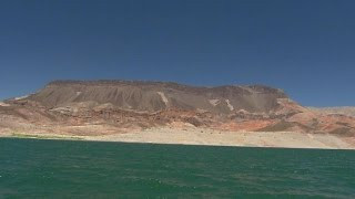 Download West Coast drought reveals surprises beneath Lake Mead Video