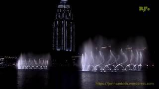 Download DUBAI FOUNTAIN at Dubai Mall Video