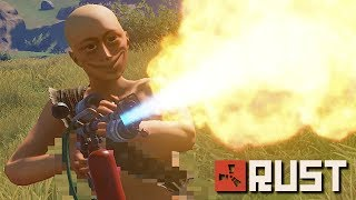 Download BURNING down a server with a TOXIC KID!   Rust Video