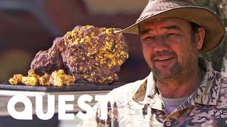 Download Crew Hits The Jackpot With A Miracle Gold Find | Aussie Gold Hunters Video