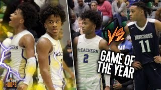 Download AAU TEAMMATES TURNED RIVALS! Sharife Cooper & Brandon Boston FACE OFF in FINAL FOUR MUST WIN GAME!! Video