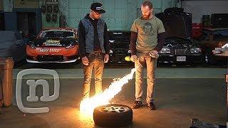 Download Chris Forsberg & Ryan Tuerck Drift Garage - Welding The Diff, Installing Suspension & Safety Ep. 3 Video
