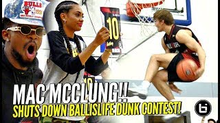 Download Mac McClung SHUTS DOWN BIL All American Dunk Contest!! Shareef & Miles Too! OSN Judging!! Video