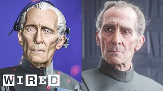 Download How 'Rogue One' Recreated Grand Moff Tarkin | Design FX | WIRED Video