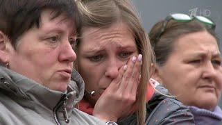 Download Сотни жителей Саратова пришли проститься с убитой девятилетней девочкой. Video