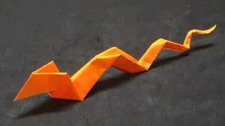 Download How to make an origami snake Video