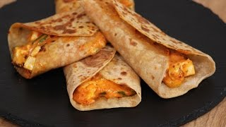 Download Peri Peri Mayo Wrap | Snacky Ideas by Amisha Doshi | Sanjeev Kapoor Khazana Video