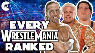 Download Every WrestleMania Ranked From Worst To Best Video