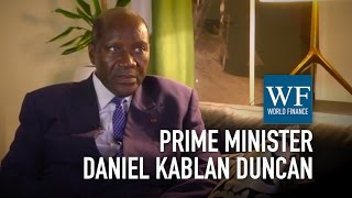 Download Prime Minister Daniel Kablan Duncan on the Ivory Coast economy | World Finance Videos Video