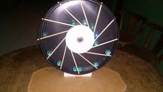 Download Como Fazer e Montar uma Roda Desequilibrada, Moto Perpetua Video