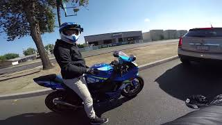 Download Undercover Cops | GSXR 750 plays with Mustang | Local Vlogger Spotlight Video