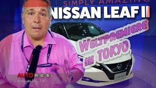 Download NISSAN Leaf 2018 - Weltpremiere in Tokyo Video