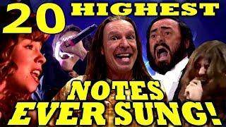 Download 20 HIGHEST NOTES EVER SUNG! Ken Tamplin Vocal Academy Video
