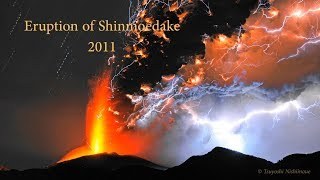 Download Shinmoedake Volcano Eruption Video