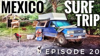 Download Mexico Surf Trip - Oaxaca OVERLAND TRAVEL VLOG Ep. 20 Video