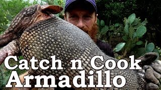 Download Catch and Cook ARMADILLO & LEPROSY! Ep14 | GRASS TORPEDOS! South Texas Survival Challenge Video
