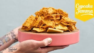 Download Super easy Honeycomb/Cinder Toffee recipe | Cupcake Jemma Video