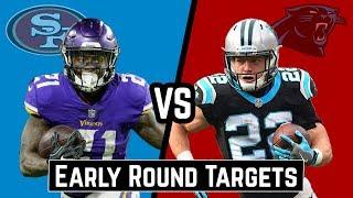 Download Early Round Targets   McKinnon vs McCaffrey Video