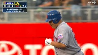 Download Colon launches a blast for first career homer Video