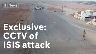 Download Exclusive: CCTV of Isis attack on Libya checkpoint Video