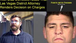 Download Nevada District Attorney renders verdict in Nick Diaz Domestic abuse case Video