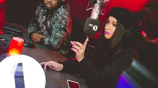 Download Cardi B talks Trump, Offset and her Sex Life with Charlie Sloth Video